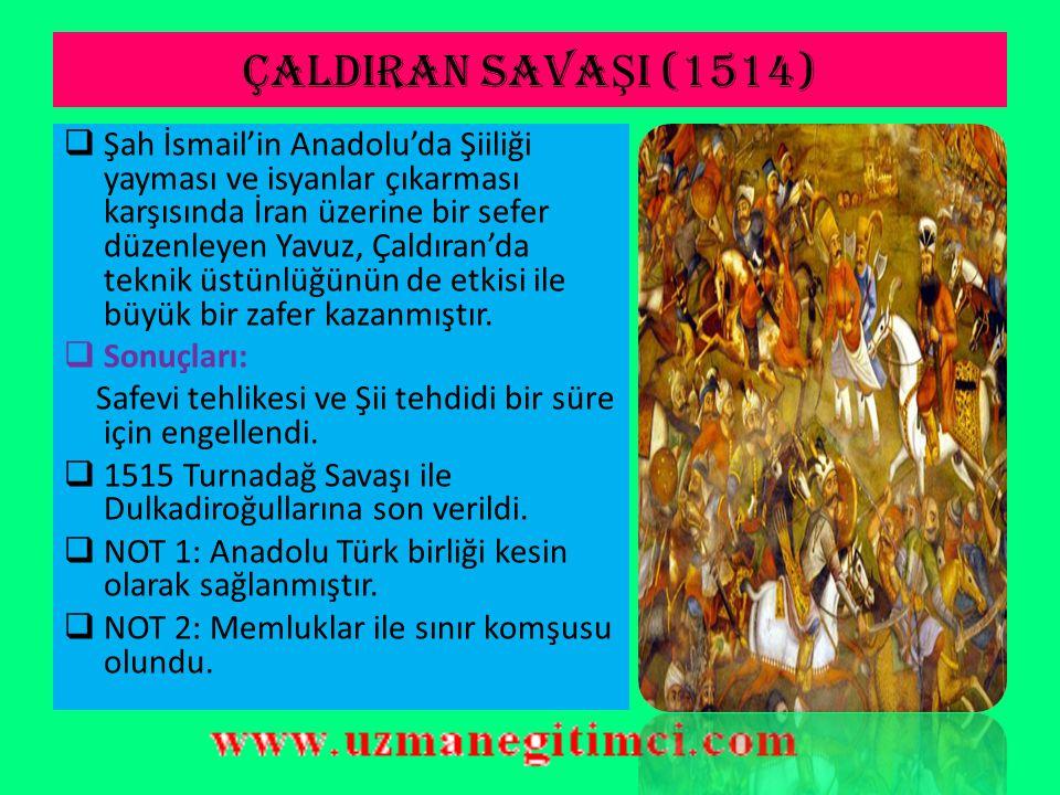 ÇALDIRAN SAVAŞI (1514)