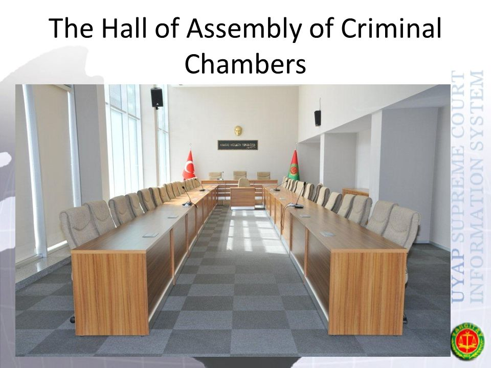 The Hall of Assembly of Criminal Chambers