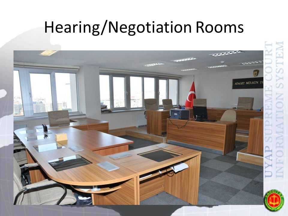 Hearing/Negotiation Rooms