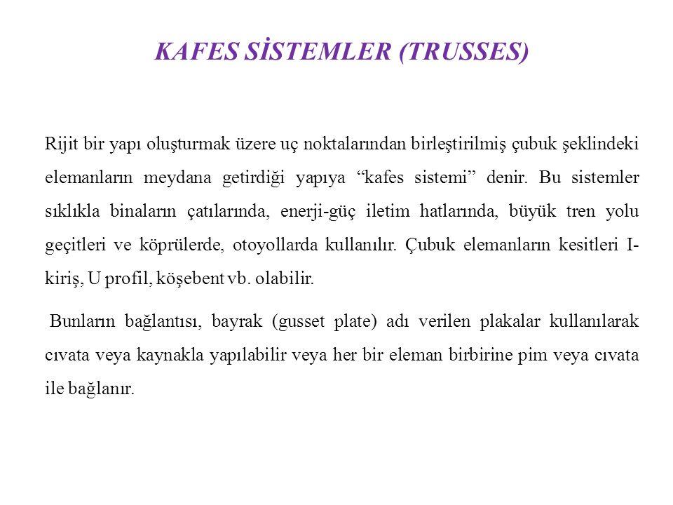 KAFES SİSTEMLER (TRUSSES)