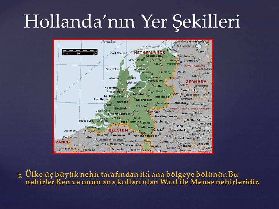 Hollanda'nın Yer Şekilleri