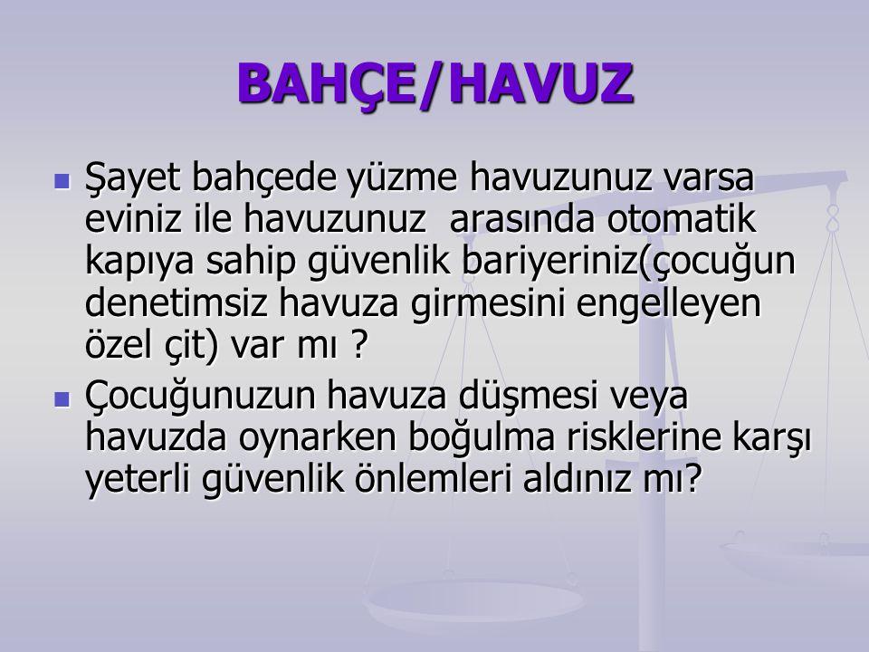 BAHÇE/HAVUZ
