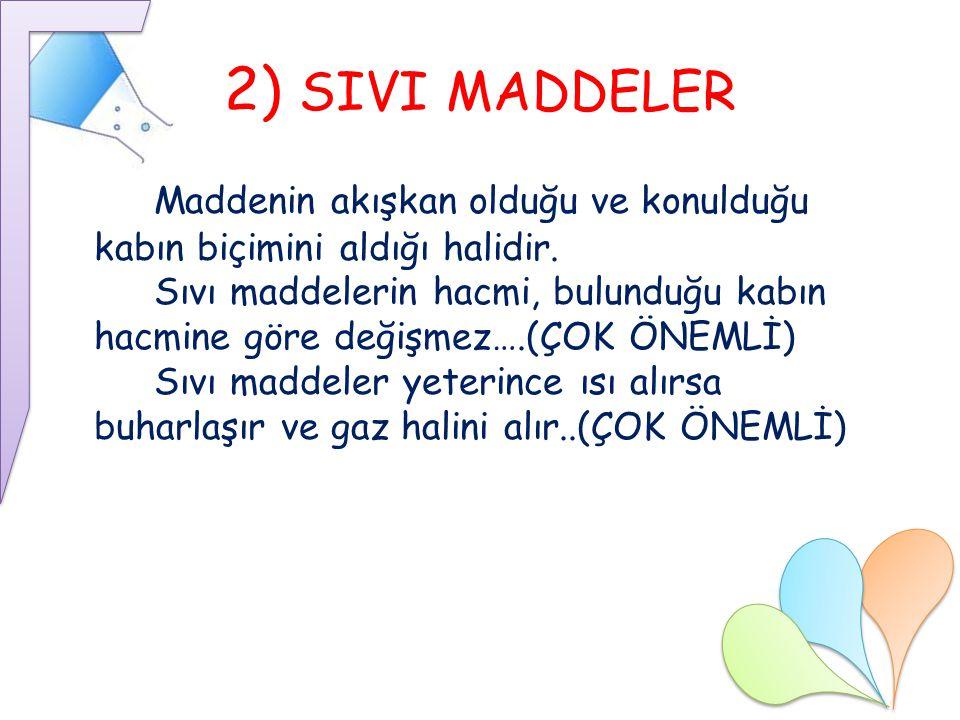 2) SIVI MADDELER