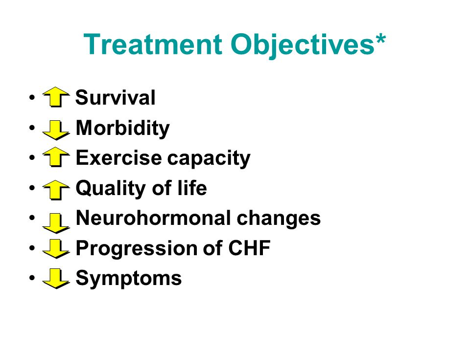 Treatment Objectives*