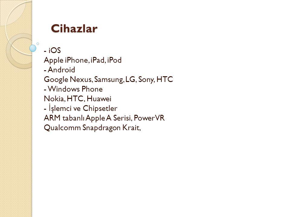 Cihazlar