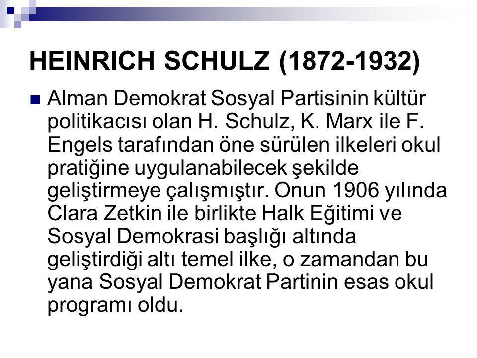 HEINRICH SCHULZ (1872-1932)