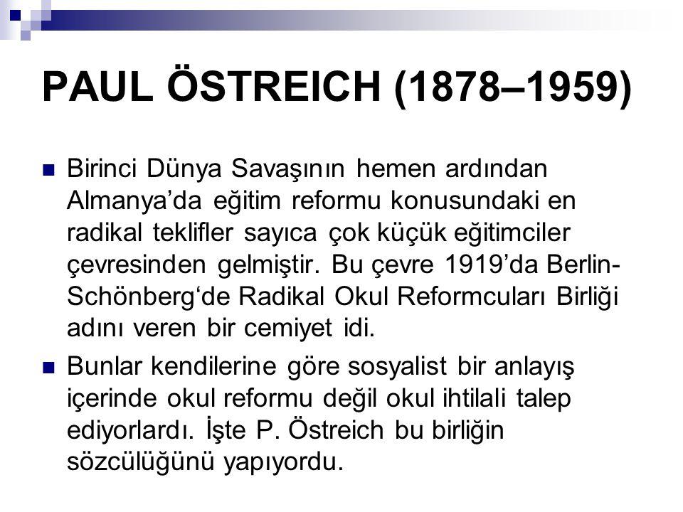 PAUL ÖSTREICH (1878–1959)