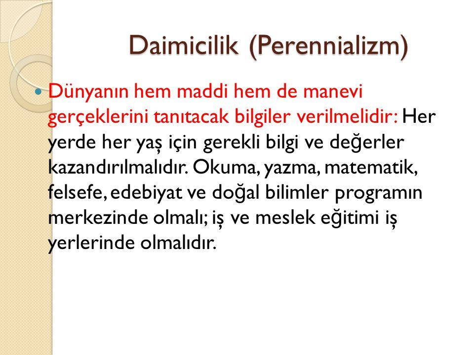Daimicilik (Perennializm)