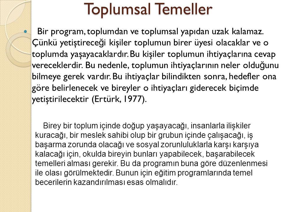 Toplumsal Temeller