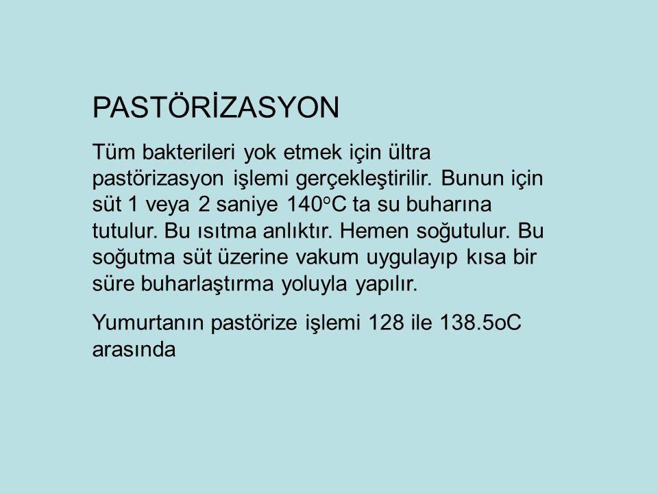 PASTÖRİZASYON