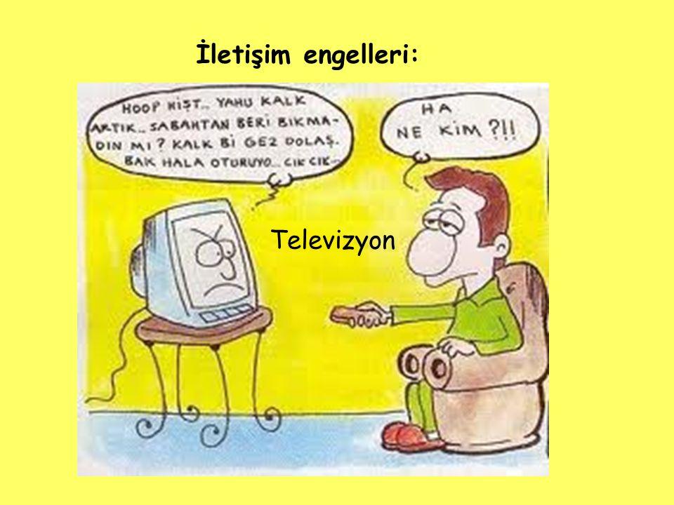 İletişim engelleri: Televizyon
