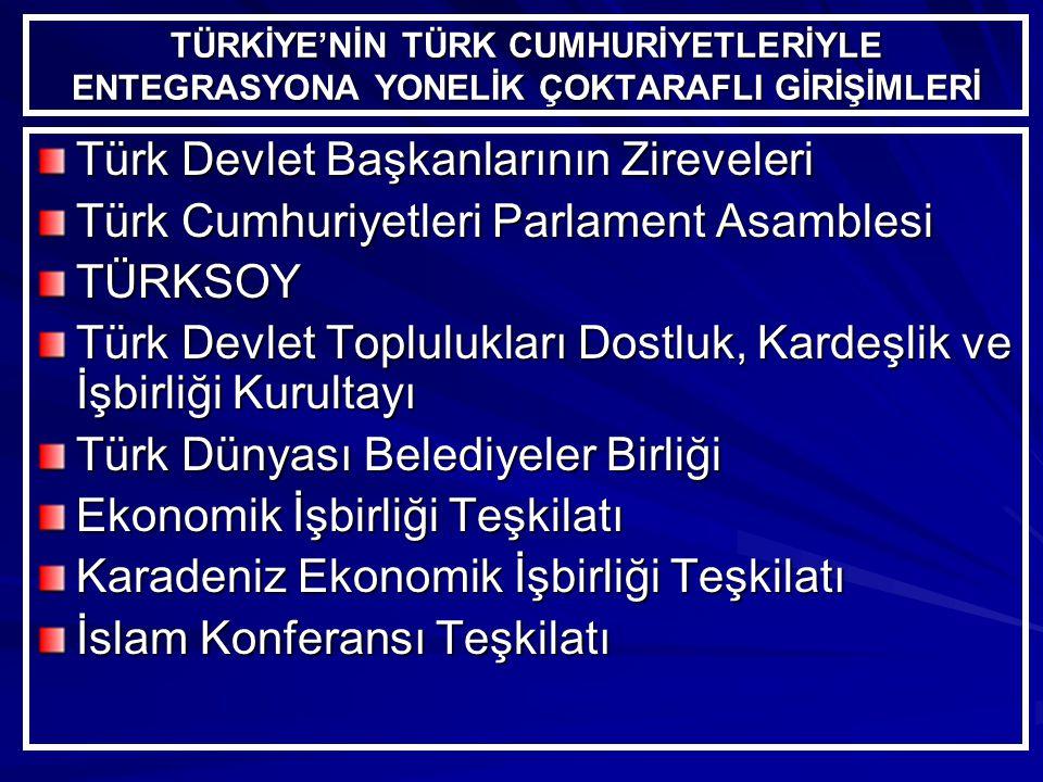 Türk Devlet Başkanlarının Zireveleri