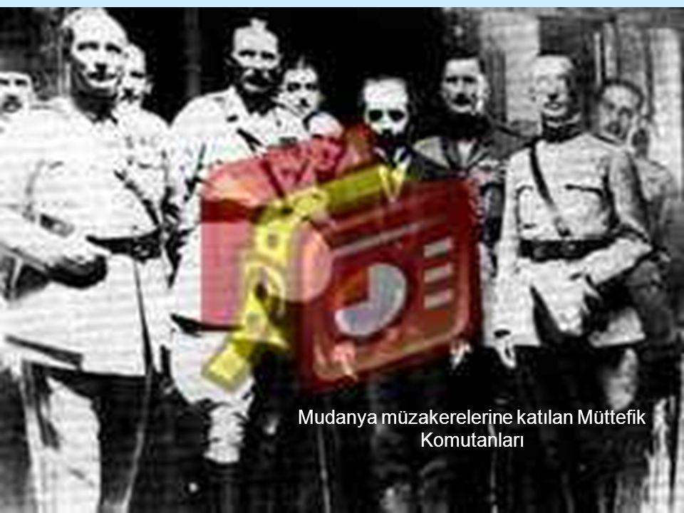 Mudanya müzakerelerine katılan Müttefik Komutanları