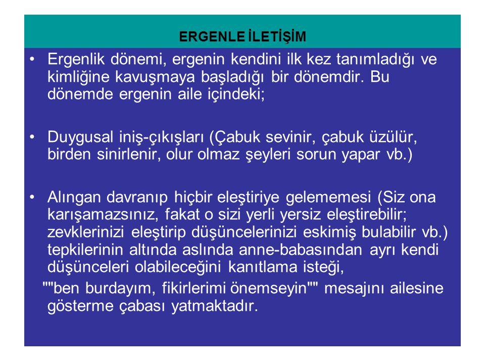 ERGENLE İLETİŞİM