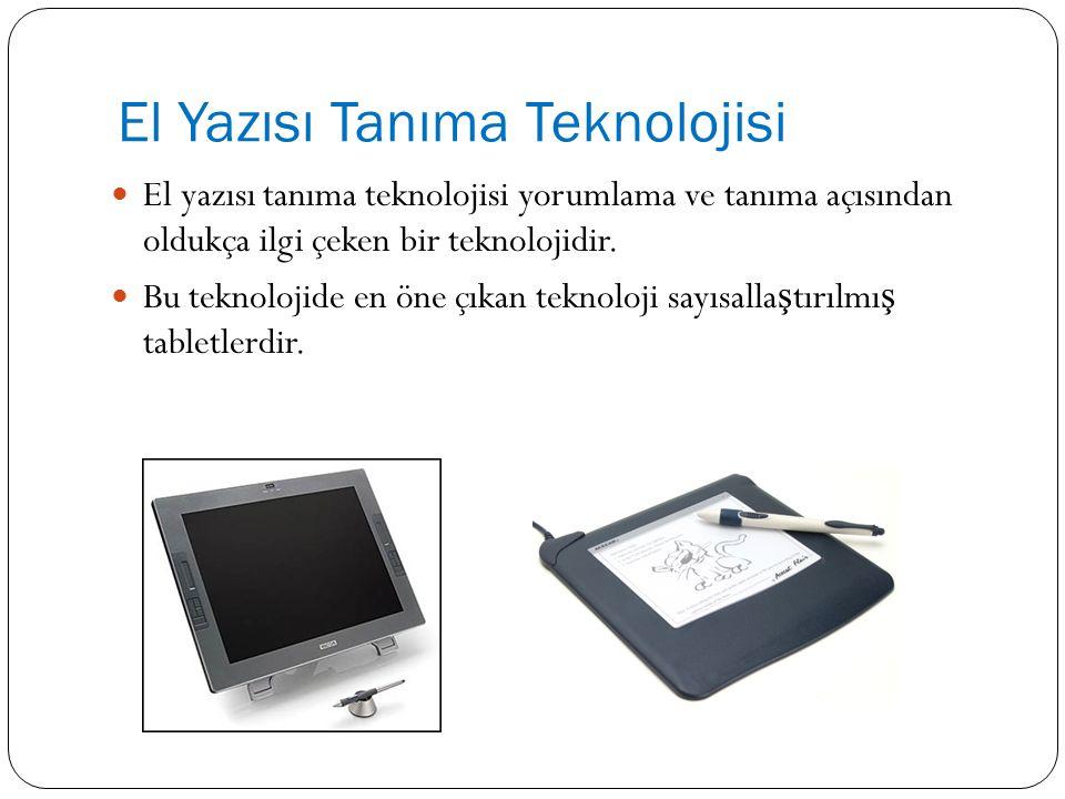 El Yazısı Tanıma Teknolojisi