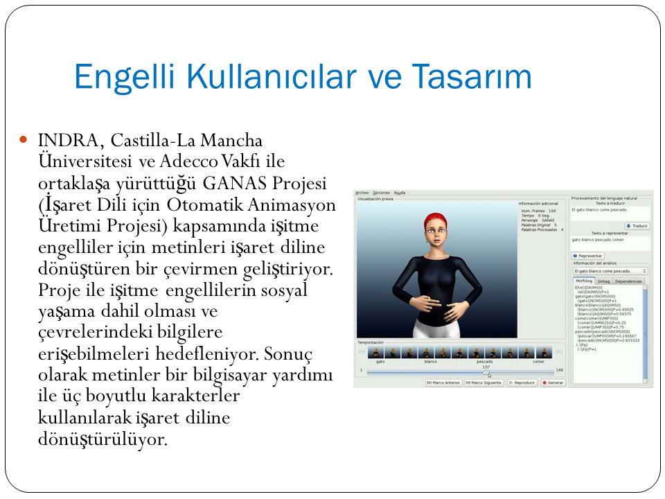 Engelli Kullanıcılar ve Tasarım