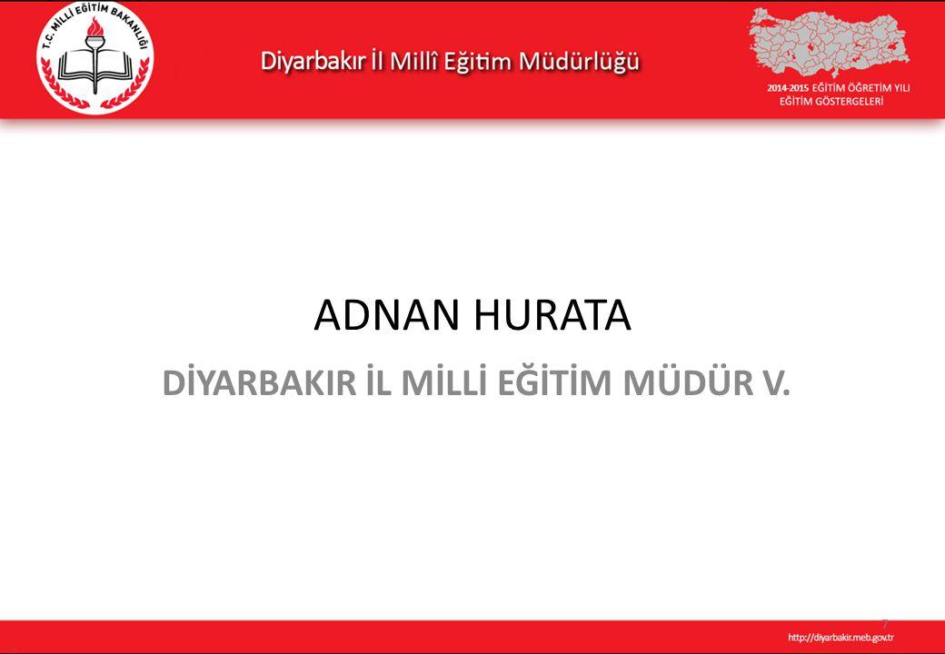 DİYARBAKIR İL MİLLİ EĞİTİM MÜDÜR V.