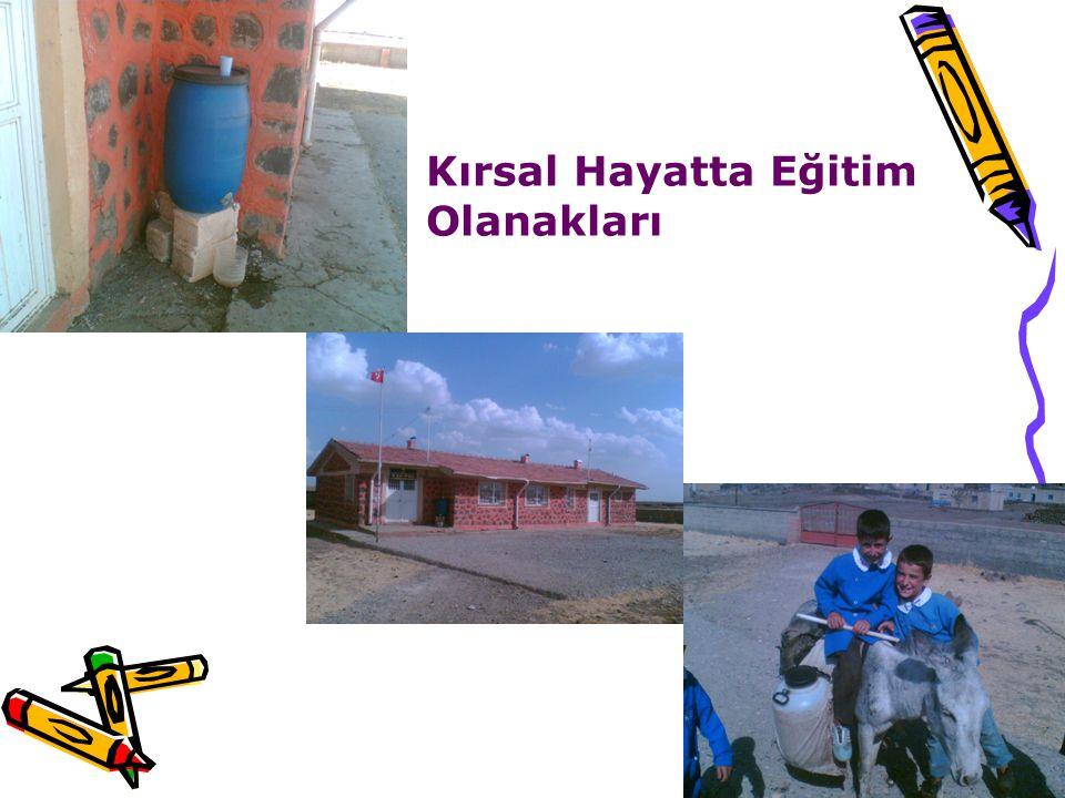 Kırsal Hayatta Eğitim Olanakları