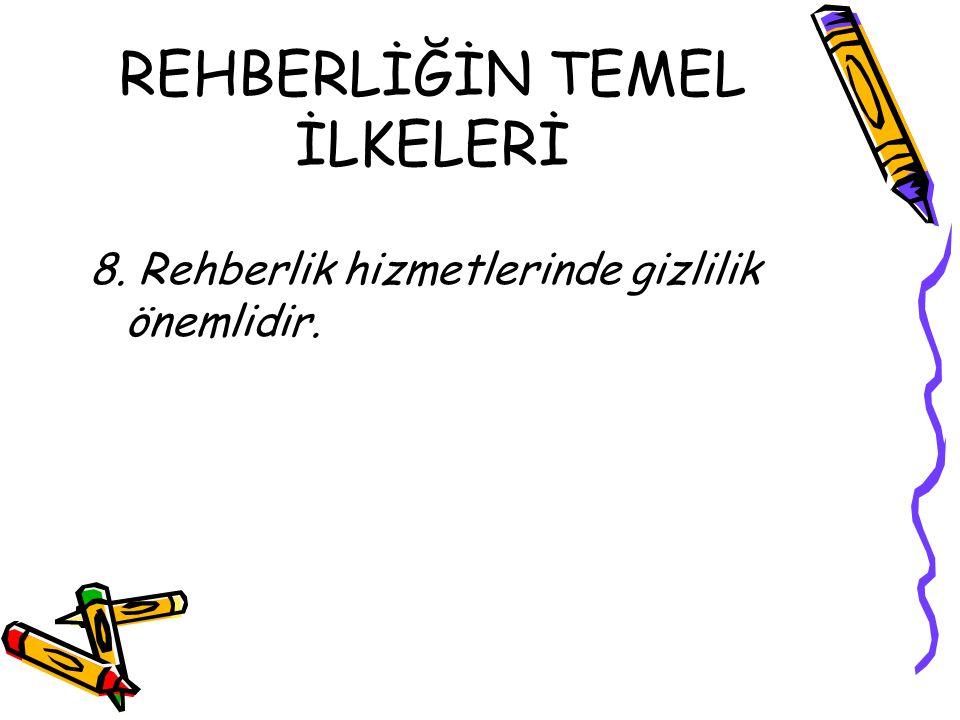 REHBERLİĞİN TEMEL İLKELERİ