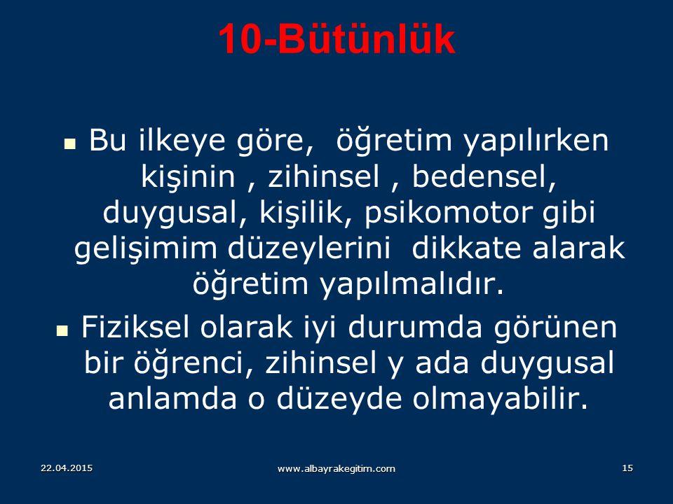 10-Bütünlük