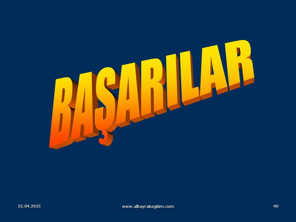 BAŞARILAR 14.04.2017 www.albayrakegitim.com
