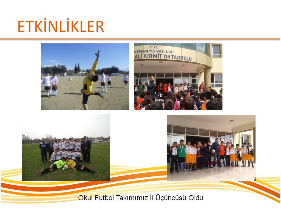 Okul Futbol Takımımız İl Üçüncüsü Oldu