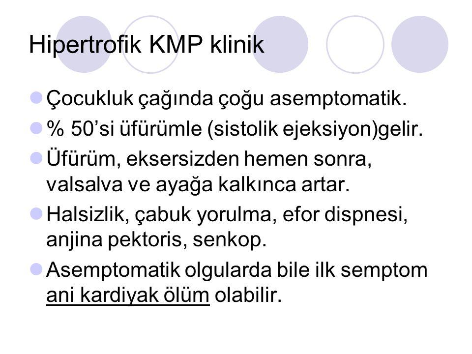 Hipertrofik KMP klinik