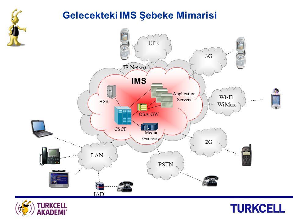 Gelecekteki IMS Şebeke Mimarisi