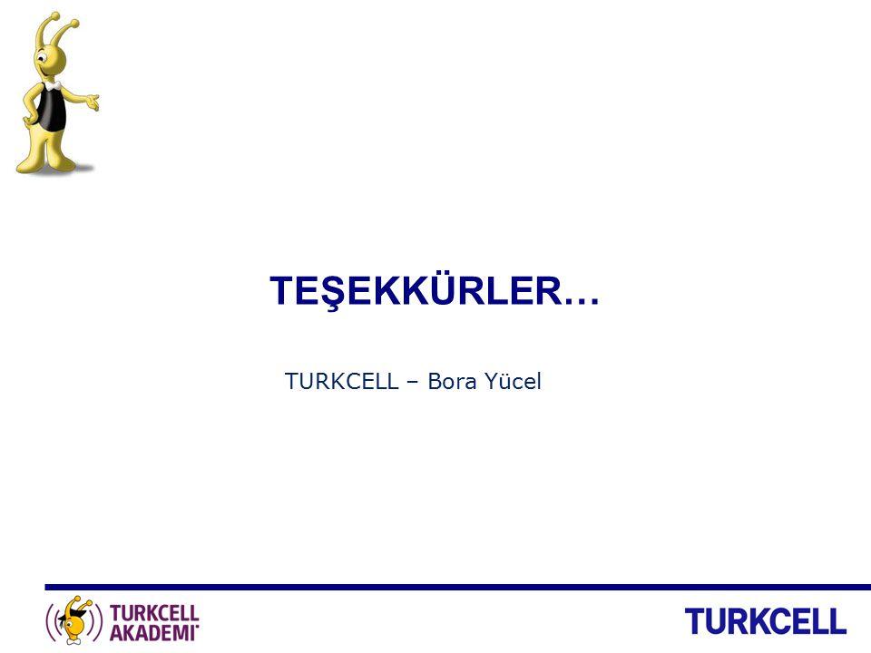 TEŞEKKÜRLER… TURKCELL – Bora Yücel