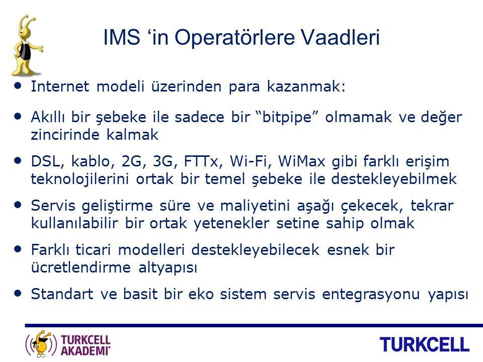 IMS 'in Operatörlere Vaadleri