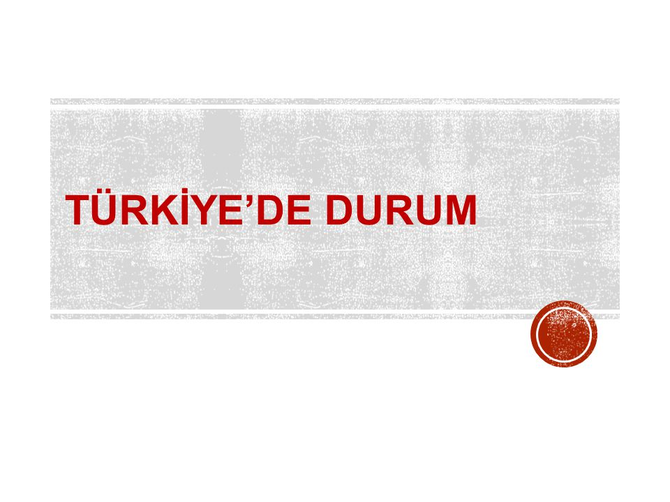 TÜRKİYE'DE DURUM Our goal in creating the Tobacco Atlas is to make a powerful tool for action and advocacy.