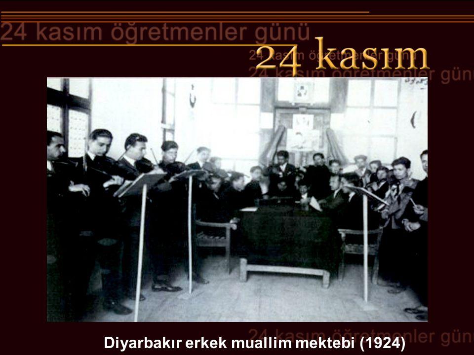 Diyarbakır erkek muallim mektebi (1924)