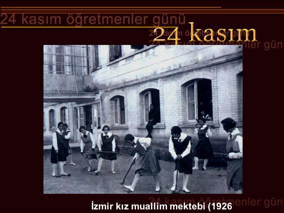İzmir kız muallim mektebi (1926
