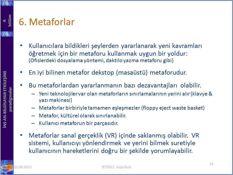 6. Metaforlar