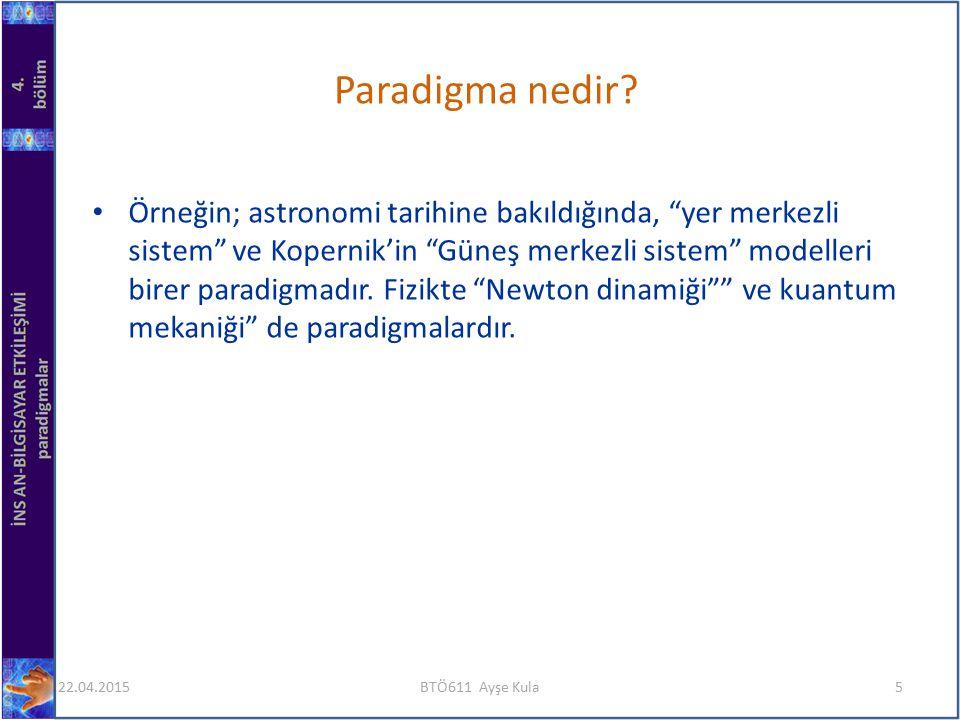 Paradigma nedir