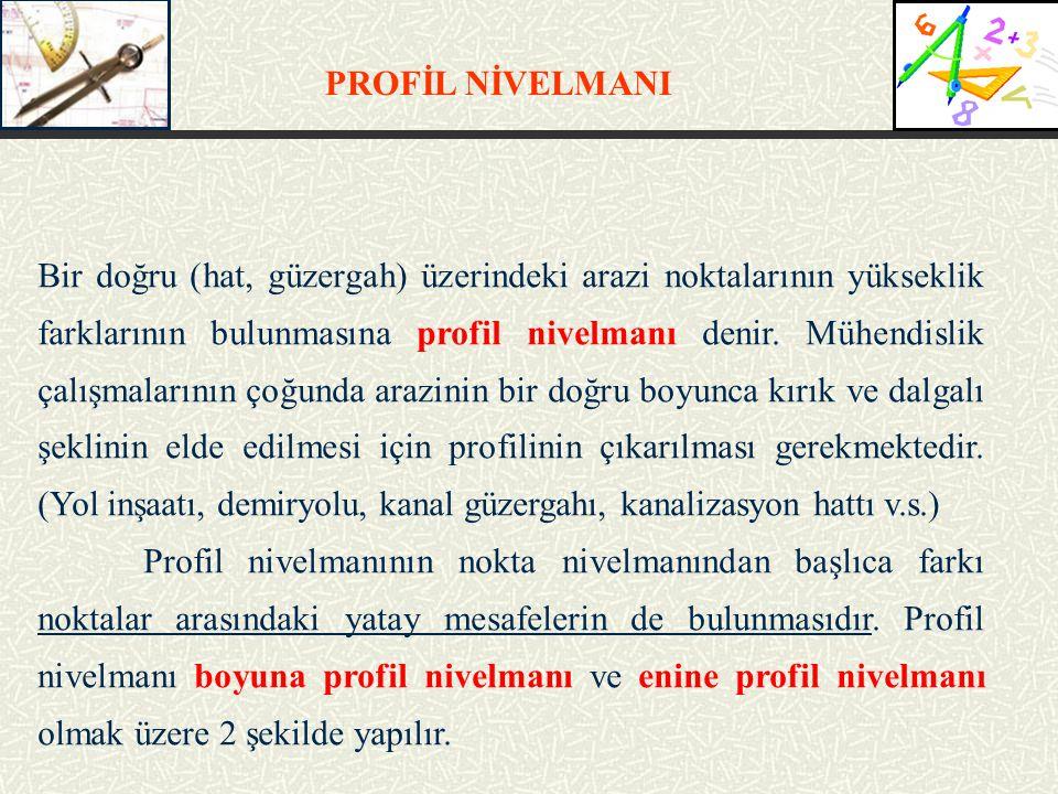 PROFİL NİVELMANI