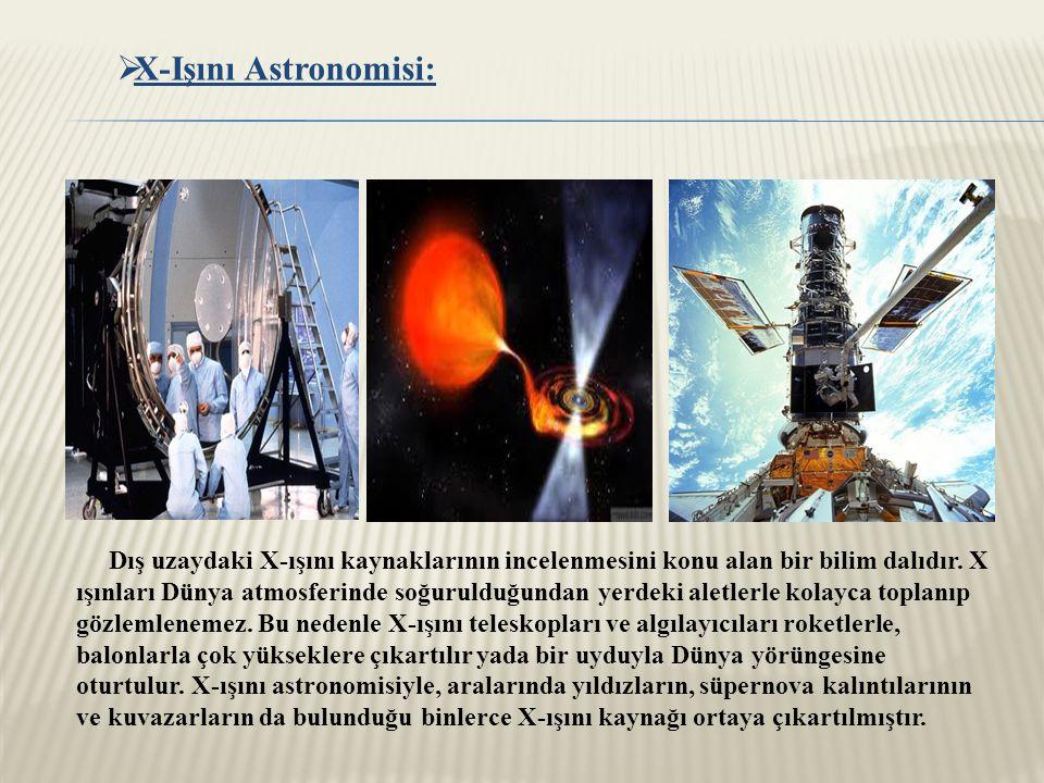 X-Işını Astronomisi: