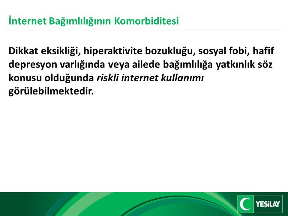 İnternet Bağımlılığının Komorbiditesi