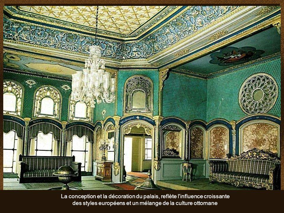 des styles européens et un mélange de la culture ottomane