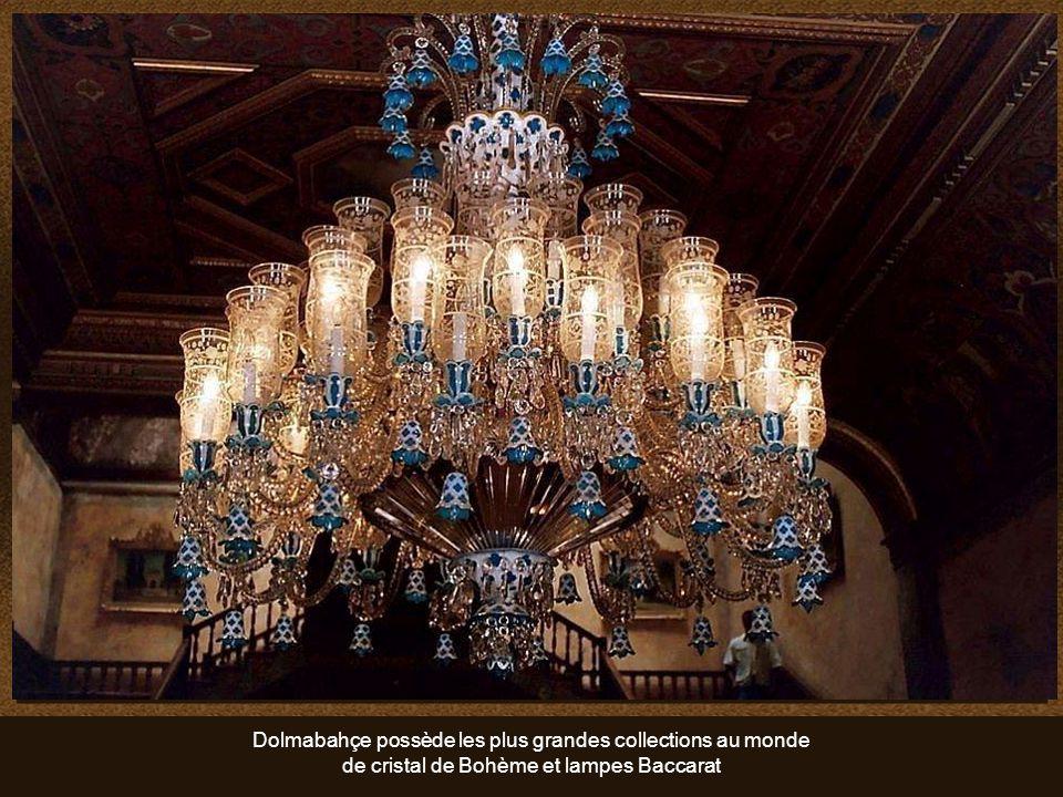 Dolmabahçe possède les plus grandes collections au monde