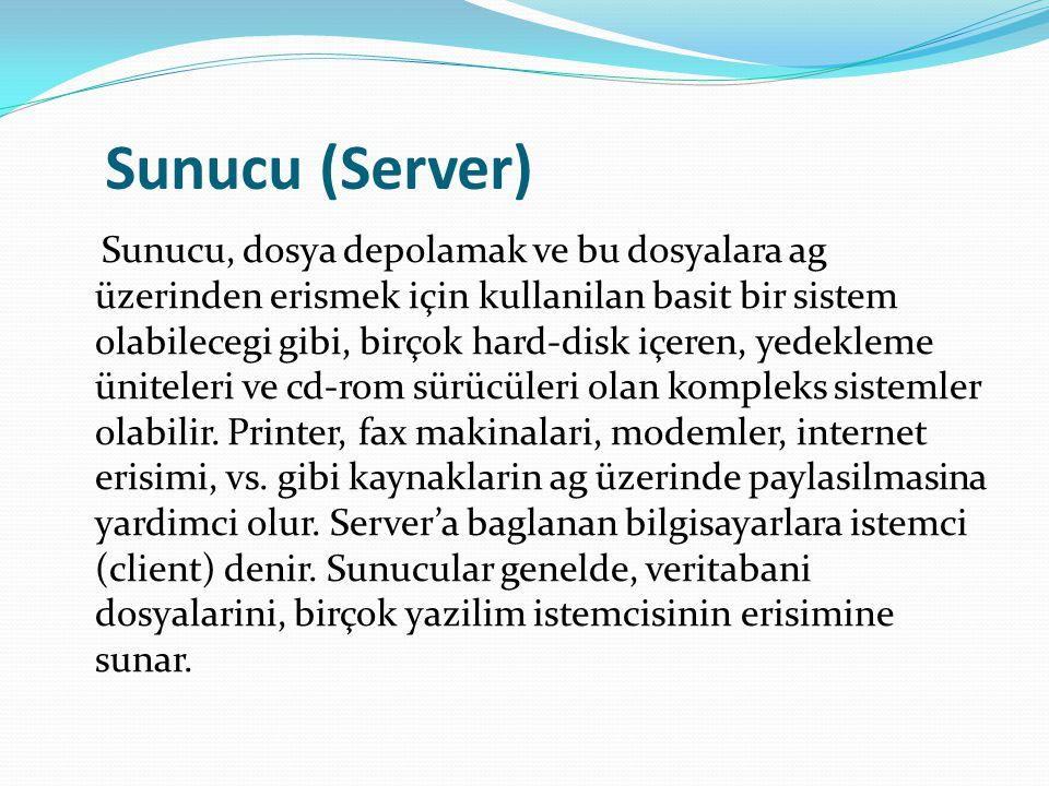 Sunucu (Server)