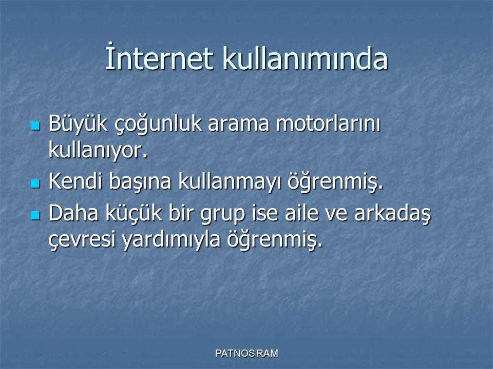İnternet kullanımında