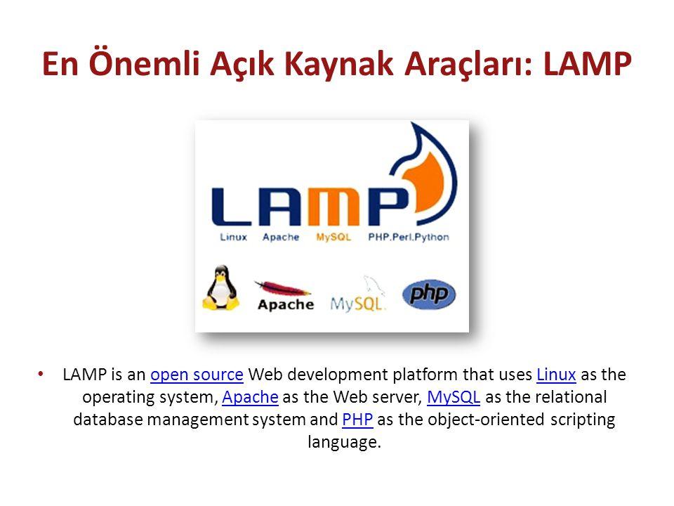 En Önemli Açık Kaynak Araçları: LAMP
