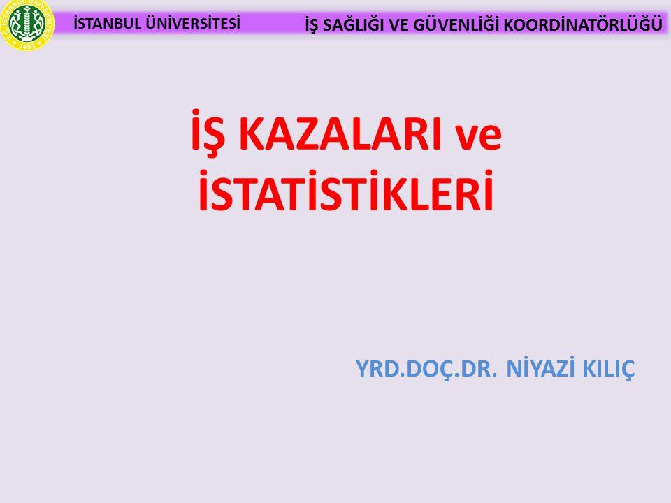 İŞ KAZALARI ve İSTATİSTİKLERİ