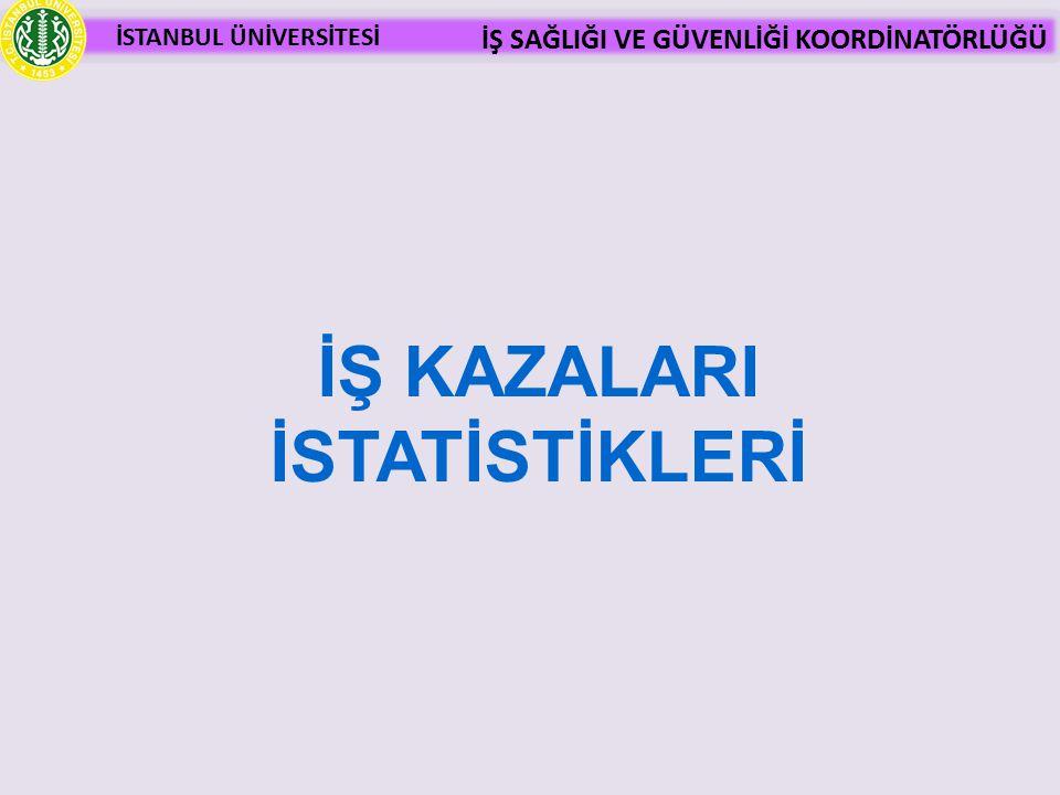 İŞ KAZALARI İSTATİSTİKLERİ