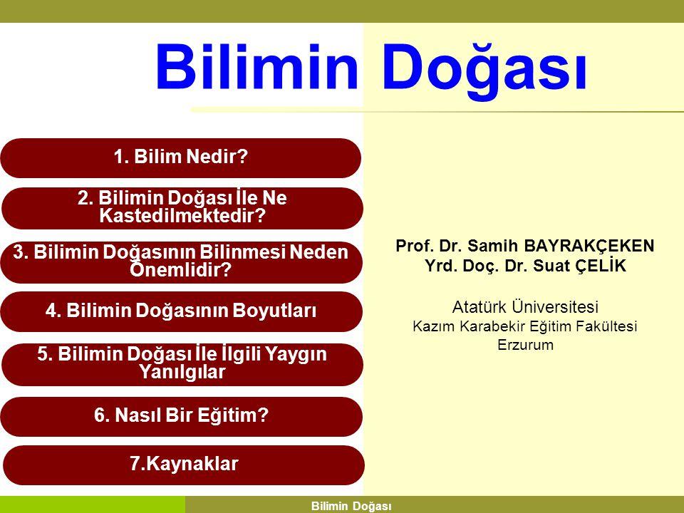 Prof. Dr. Samih BAYRAKÇEKEN