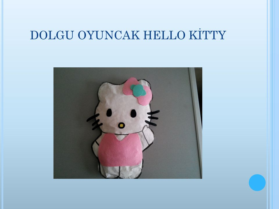 DOLGU OYUNCAK HELLO KİTTY
