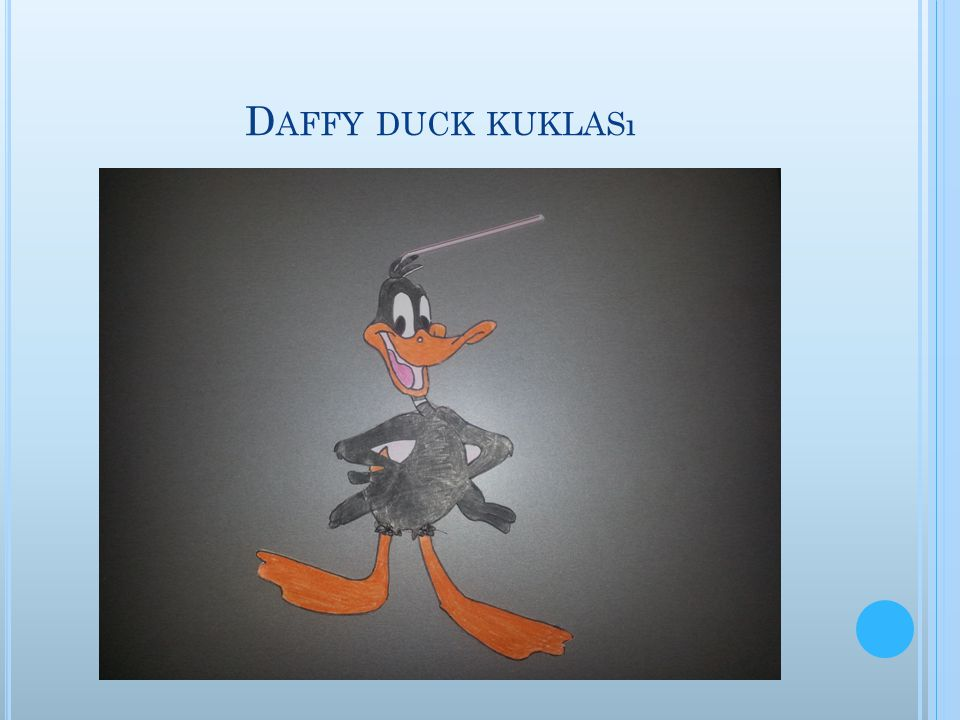 Daffy duck kuklası