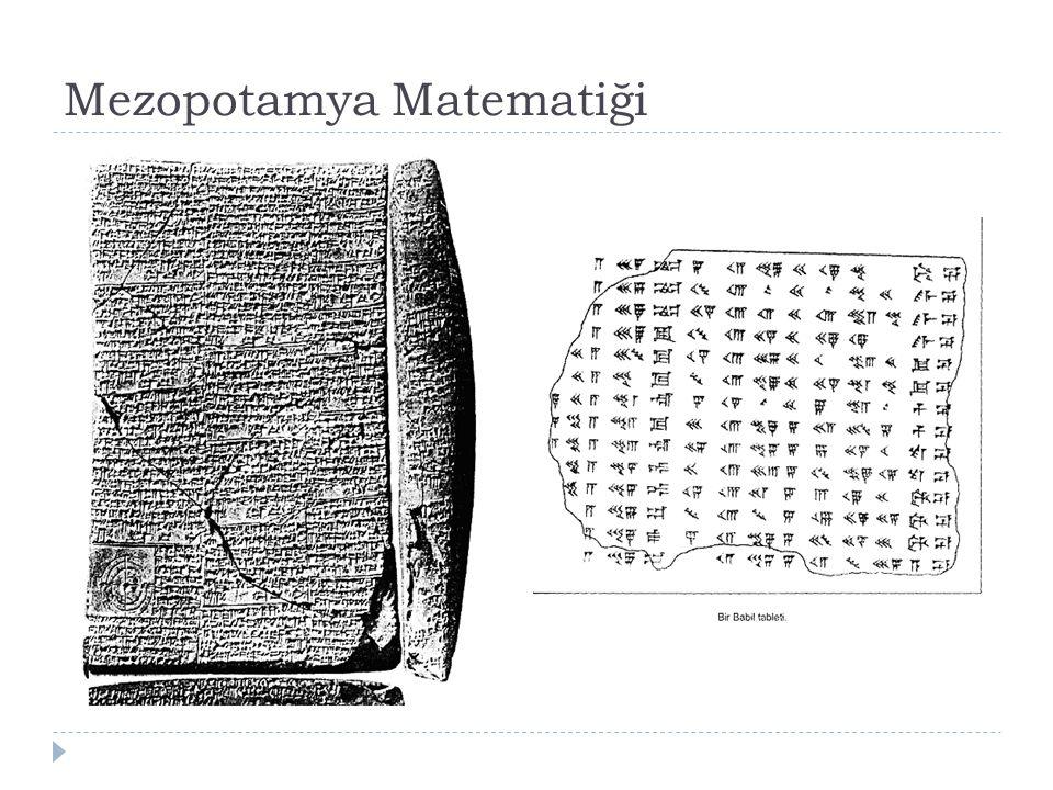 Mezopotamya Matematiği