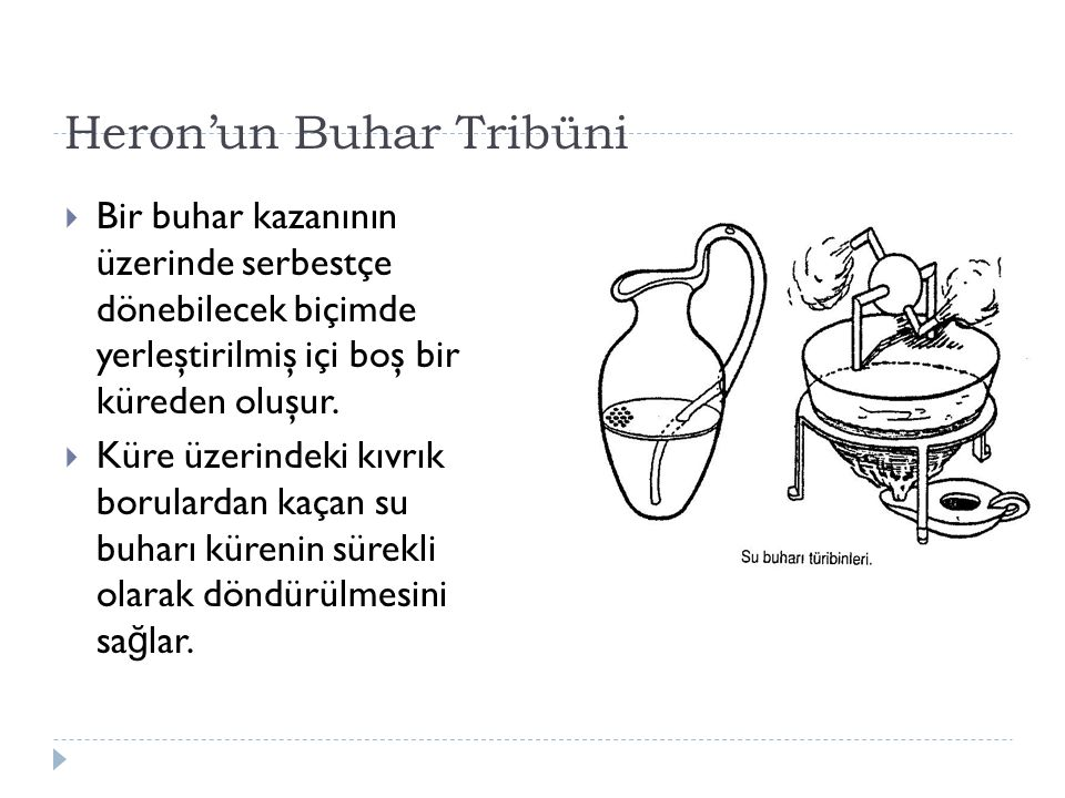 Heron'un Buhar Tribüni